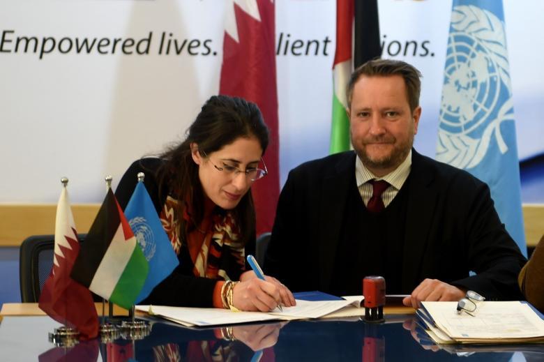توقيع اتفاقية لتشغيل أكثر من 3 آلاف فلسطيني في غزة