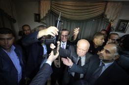 القدوة: نسعى لخطة إصلاح منزل الشهيد عرفات بغزة