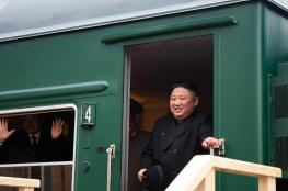 زعيم كوريا الشمالية يصل روسيا