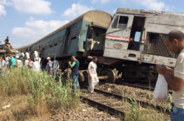 قتلى وجرحى في تصادم قطارين قرب الإسكندرية