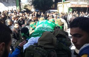 جنازة الراحل القسامي عطا الهرباوي بالنصيرات