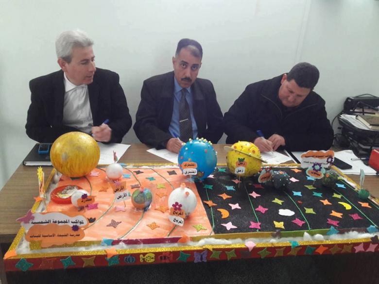تربية شمال غزة تنفذ مسابقة تربوية