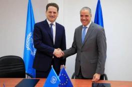 """الاتحاد الأوروبي يقدم لـ""""أونروا"""" 82 مليون يورو"""
