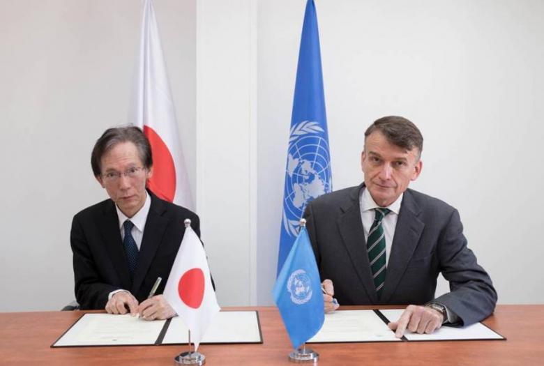 """اليابان تتبرع بأكثر من 22,4 مليون دولار لصالح """"الأونروا"""""""