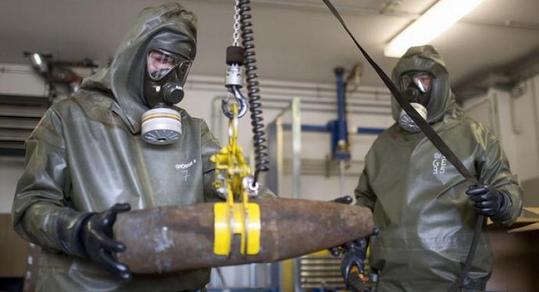 اعتراض شحنات كيميائية كورية شمالية متجهة لسوريا