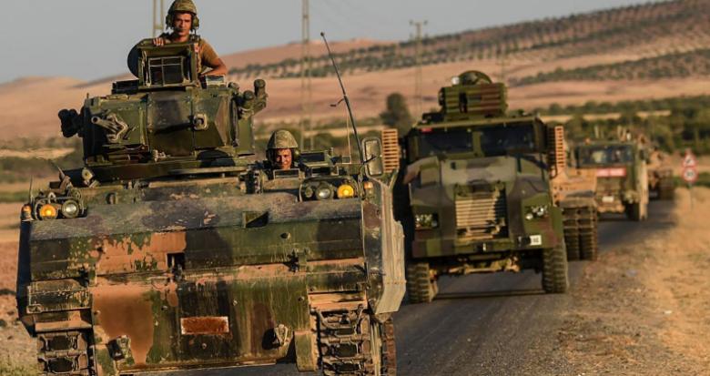 تركيا تعلن انهيار دفاعات داعش في الباب