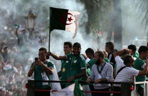استقبال جزائري أسطوري لـ