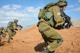 الاحتلال يجري تدريبات عسكرية جنوب طوباس