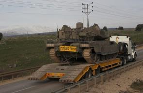تعزيزات عسكرية لجيش الاحتلال شمال فلسطين المحتلة