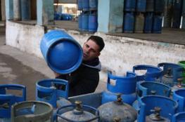 المالية بغزة توضح كميات الغاز التي دخلت اليوم لغزة