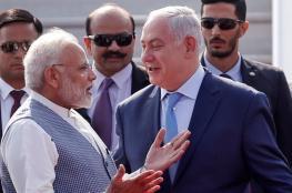 """الهند ستشتري من """"إسرائيل"""" أسلحة بقيمة 3.5 مليار دولار"""