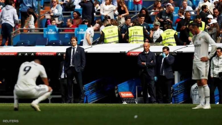 """ريال مدريد يصدر """"حكمه النهائي"""" على مدربه"""