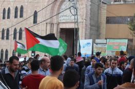 بالصور: مسيرة حاشدة بالخليل نصرة للأقصى وغضباً للشهداء