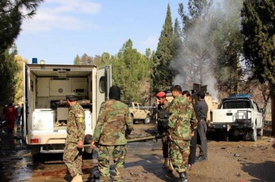 شرطي أفغاني يقتل 11 من زملائه بهلمند