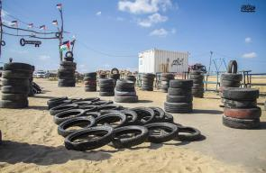 تجهيزات وحدة الكوشوك لجمعة المقاومة خيارانا على حدود غزة