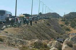 مصرع ثلاثة مواطنين في حادث سير شرق رام الله