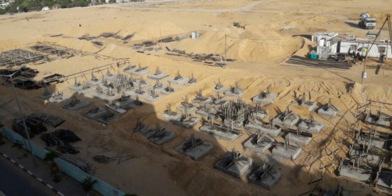 """مدينة """"حمد """" السكنية تشهد إنشاء 7 عمارات جديدة"""
