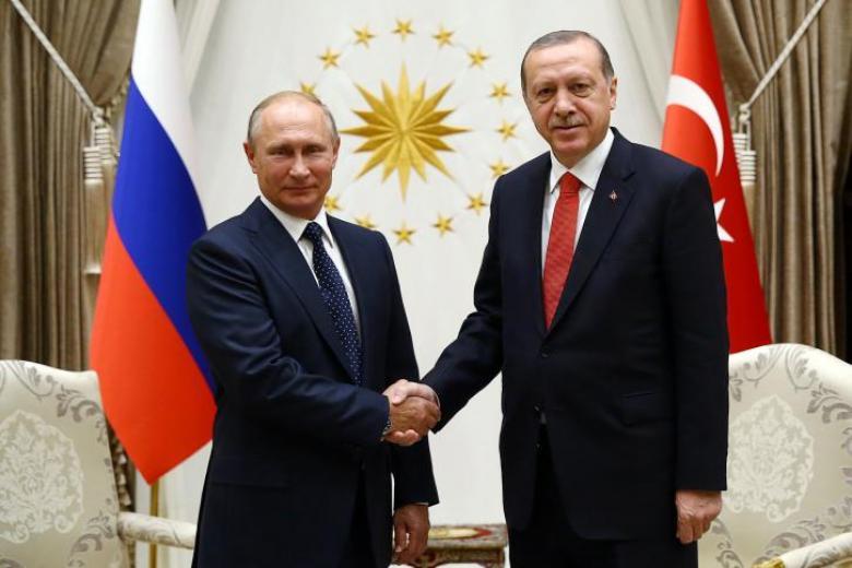 بوتين يشيد بفوز أردوغان في رئاسة تركيا