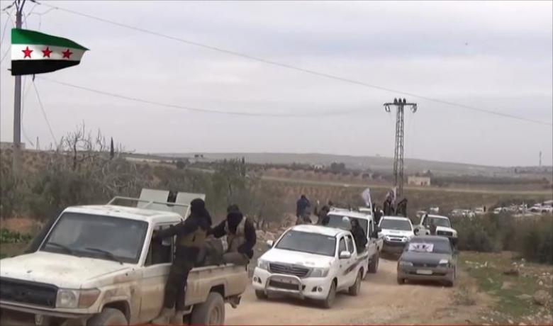 الجيش الحر يسعى لقطع طريق النظام تجاه الباب