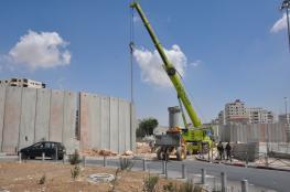 قلق أوروبي من استئناف بناء الجدار العنصري بوادي الكريمزان