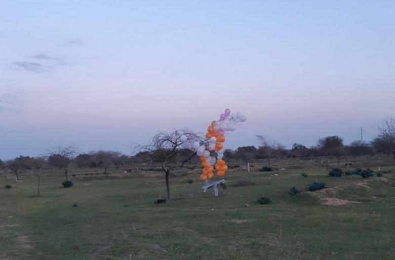 """سقوط بالونات متفجرة في """"أشكول"""""""