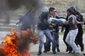 إصابات بالغاز خلال مواجهات مع الاحتلال في الخليل وسعير