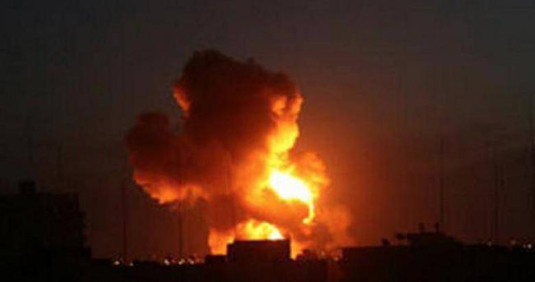 قصف إسرائيلي على مراصد للمقاومة في قطاع غزة