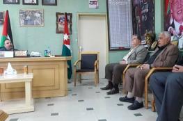 شرطة خانيونس تبحث سبل التعاون مع المستشفى الأردني