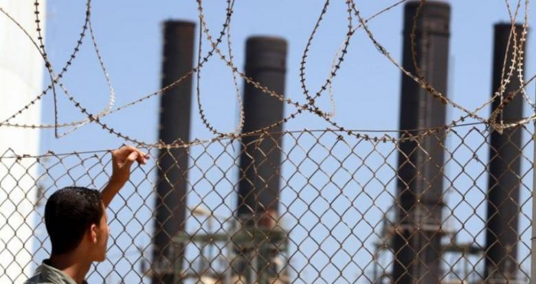 كهرباء غزة: توقف محطة التوليد بالكامل لعدم إدخال الوقود
