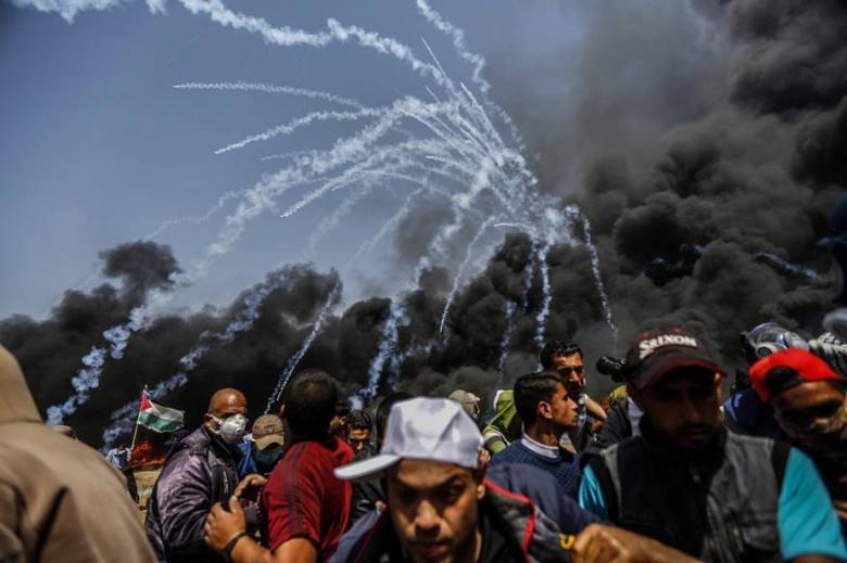 """""""رايتس ووتش"""": استخدام """"إسرائيل"""" القوة القاتلة بغزة قد يرقى لجرائم حرب"""