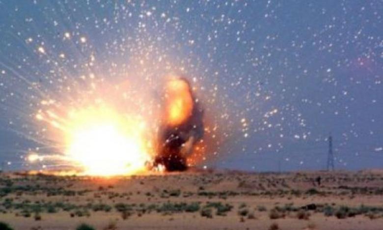 انفجار عبوة محلية الصنع على حدود شمال القطاع