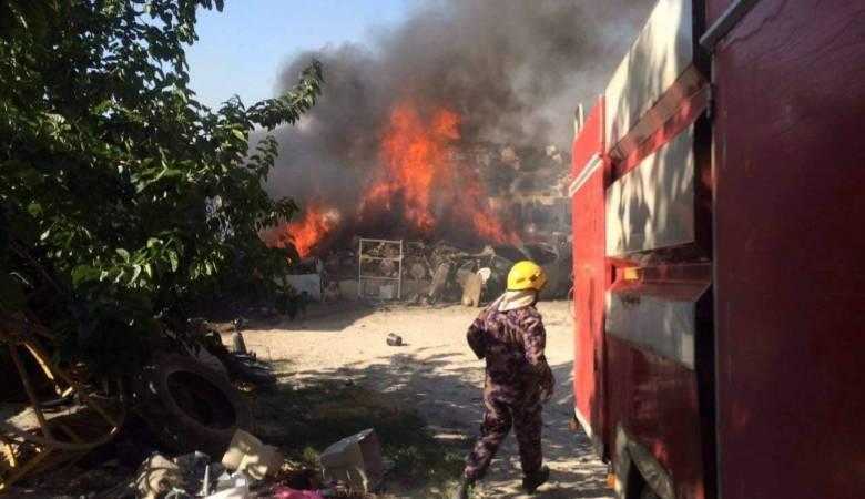 اندلاع عدة حرائق في نابلس بفعل المستوطنين وارتفاع الحرارة