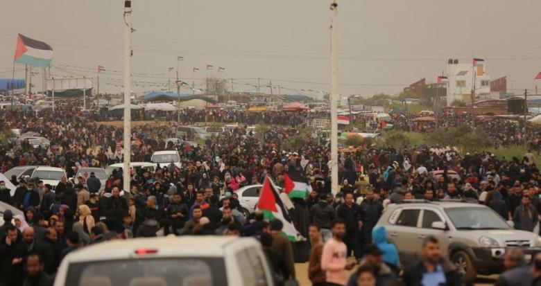 الهيئة العليا لمسيرات العودة تدعو للمشاركة في الجمعة الـ59
