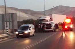 مصرع 6 عمال في حادث سير قرب البحر الميت