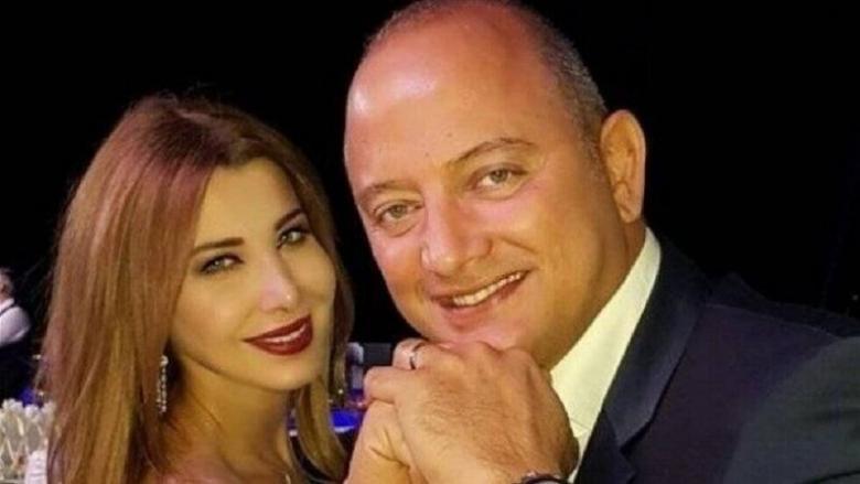 الصورة الأولى لنانسي عجرم وزوجها بعد الإفراج عنه