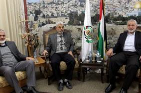 هنية والسنوار يبحثان انتقال مقاليد قيادة حماس