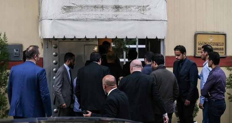 الوفد التركي يصل القنصلية السعودية للتحقيق في قضية اختفاء خاشقجي