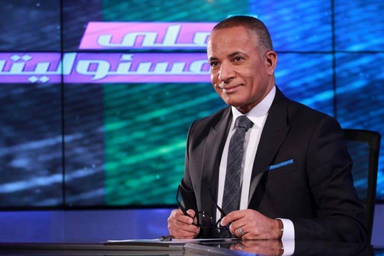 أحمد موسى يفوز بجائزة أفضل إعلامي في استفتاء مصري
