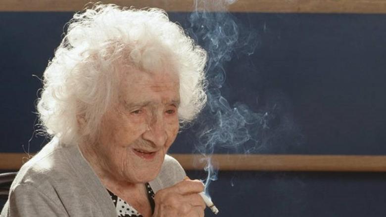 هل زورت أكبر معمرة بالعالم سنها؟