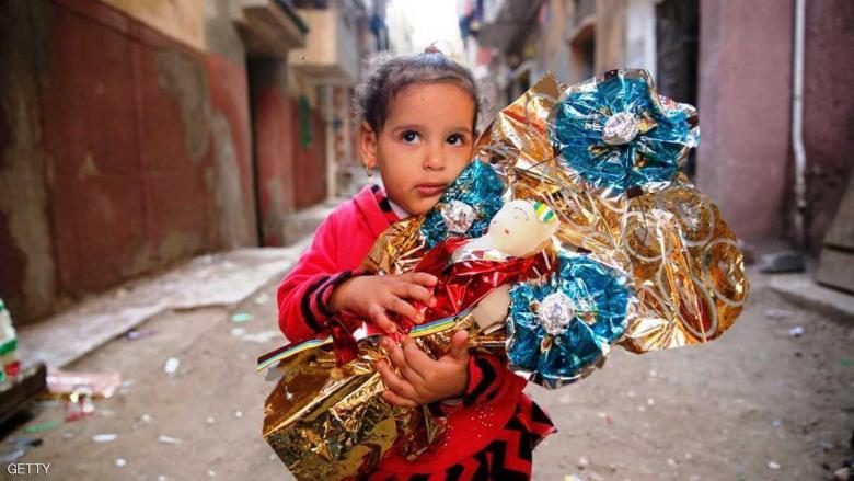 """مصر.. """"عاصمة الحلوى"""" تتزين للمولد النبوي"""