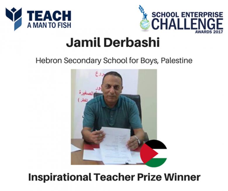 مفاجأة.. أفضل معلم في العالم فلسطيني