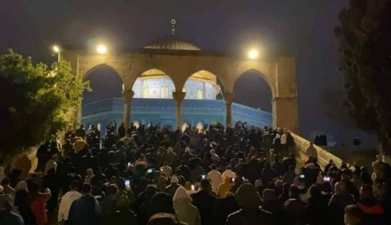 حماس: الرباط في الأقصى وبقية المساجد أولوية وطنية ودينية
