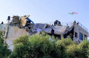 جيش الاحتلال يدمر منزل الشهيد عمر أبو ليلى غرب سلفيت