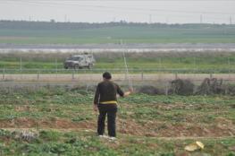 الاحتلال يفتح رشاشاته تجاه الأراضي الزراعية شرق البريج والمغازي