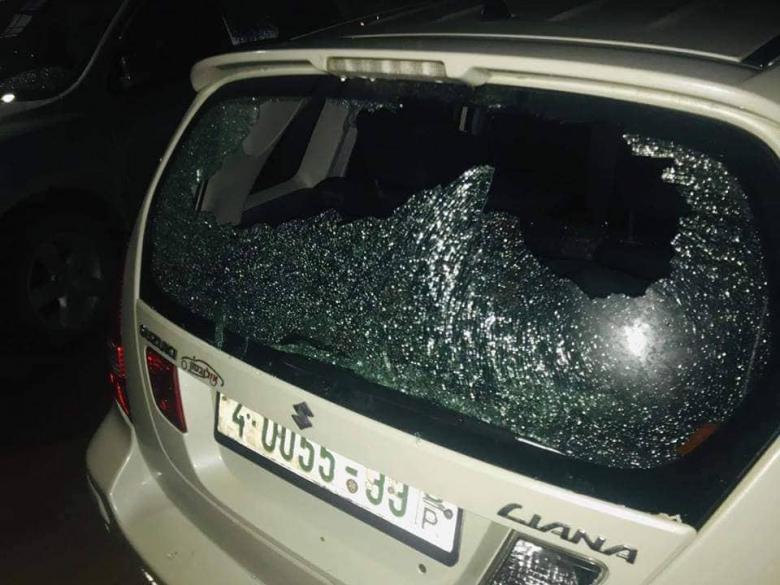مستوطنون يقومون بأعمال عنف في نابلس