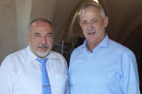 غانتس وليبرمان يتفقان لأول مرة على نتنياهو