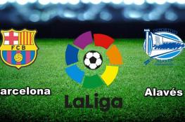 بث مباشر:  ألافيس VS برشلونة