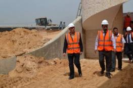 الانتهاء من تشييد محطة لمعالجة المياه العادمة شمال القطاع