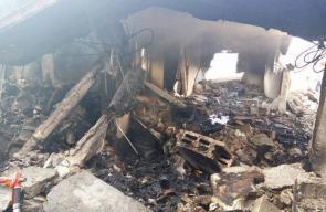 تفجير منزل عائلة الشهيد أبو عنكوش