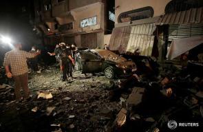 استهداف منزل القائد في سرايا القدس بهاء أبو العطا
